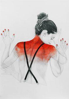 Área Visual - Blog de Arte y Diseño: Las ilustraciones de Antonella Montes