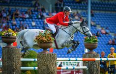 Ludger Beerbaum and Chiara -  Round One of 2015 European Championships - Aachen   Source: Noelle Floyd Equestrianism