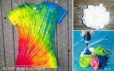 Coloring Tshirt DIY