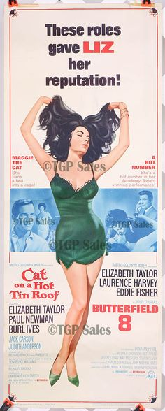 """Hmm.  Questionable taste in advertising.  This was no doubt a double feature that was released during  """"Le Scandale""""- the Taylor/Burton affair."""