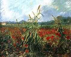 Vincent van Gogh — Green Ears of Wheat, 1888, Vincent van GoghMedium:...