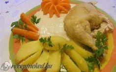Rebarbara mártás recept fotóval Pesto, Chicken, Food, Essen, Meals, Yemek, Eten, Cubs