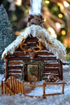 Charming Gingerbread House For Christmas Ideas (07)