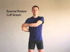This is an excellent video that may help you keep your shoulders working properly. Rotator Cuff Stretches, Rotator Cuff Rehab, Pranayama, Shoulder Rehab, Shoulder Surgery, Shoulder Stretches, Psoas Release, Tight Hip Flexors, Psoas Muscle
