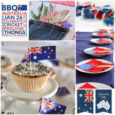 Have a happy and creative Australia Day! Aussie DIY, Printable and Craft Ideas