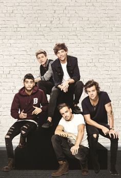 Fotomural W2PL 1D 001, imagen de los integrantes del grupo musical británico One Direction.