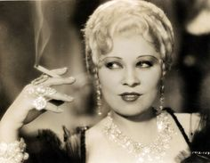 Mae West, 1933, vintage, actress, She Done Him Wrong
