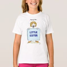 Funny Kids Little Sister T-shirt - click/tap to personalize and buy Family Theme, Little Sisters, Funny Kids, Funny Tshirts, Shirt Style, Your Style, Shirt Designs, Mens Tops, T Shirt