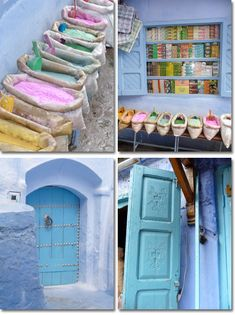 Colour inspiration from Marrocos!!