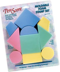 Clearsnap Magicstamp™ Moldable Foam Stamp: Geo Set