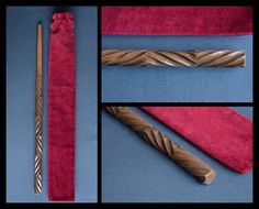 Wooden wand Harry Potter/Pottermore inspired alder wand