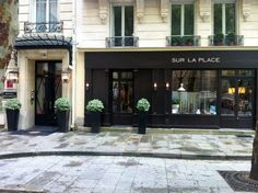 Sur la Place / Hotel Recamier Paris by Jean-Louis Deniot