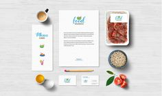 Showcase your food branding design in an elegant and unique style with this Free Food Branding MockUp PSD Template. This is a food package PSD MockUp with different food-related elements that are fully separated.