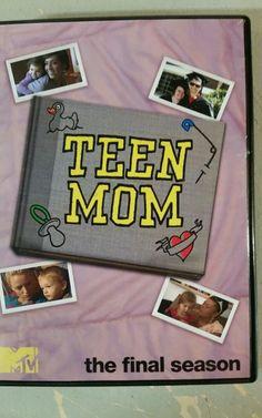 Teen Mom MTV SHOW The Final Season ( 4 Disk Set ) OOP VHTF Rare