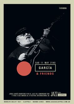 Festival Jazz en Claypole by Max Rompo, via Behance