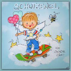 Snoopy, Children, Fictional Characters, Art, Guardian Angels, Boys, Kids, Big Kids, Kunst