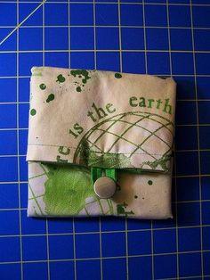 Tutorial: Folding Grocery Tote – yarngeek