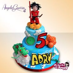 Dragon Ball cake Cake by Angela Guerra