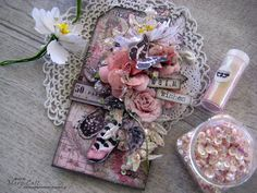 Mary's Crafty Moments: ''Warm Wishes'' - DT Tag for More Than Words Mini ...