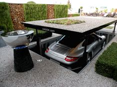 Fancy adding a touch of James Bond gadgetry to your home – why not install a practical Cardok to solve all your parking problems?