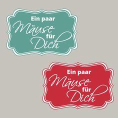 Dekoratives Etikett, Geldgeschenk, Mäuse für Dich, Stampin´Up! Stempeln, Craft, basteln, stampin https://www.facebook.com/Colorspell