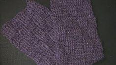 Crochet Geek - Crochet BasketWeave Scarf, via YouTube.