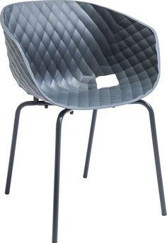 Kare design :: Krzesło Radar Bubble z podłokietnikami (antracyt)