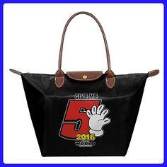 Marc Marquez - #GiveMe5 Women's Fashion Waterproof Hobo Bag Large Tote Shoulder Handbag - Hobo bags (*Amazon Partner-Link)