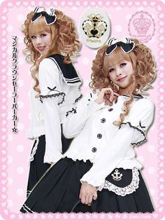 Magical Crown Sailor Parka  This product is available at: http://www.cdjapan.co.jp/apparel/index.html
