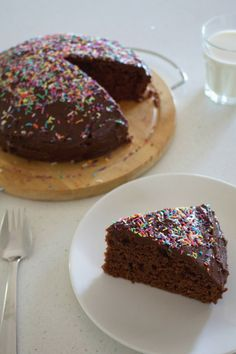 Egg-free chocolate cake - an easy baking recipe with no eggs