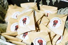 Dog Wedding Ideas | Love is a four-legged word favor stickers