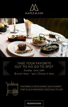 US consumers are expected to spend approximately $20.1 billion on Father's Day in 2021. Don't miss out on opportunities to drive revenue for your restaurant. Read on for 4 Father's Day restaurant marketing ideas to help you maximize revenue. Marketing Ideas, Media Marketing, Cocktail Gifts, Gentleman Jack, Restaurant Marketing, Old Fashioned Cocktail, Craft Cocktails, Menu Items, Chocolate Box