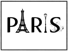 printable  about Paris #paris #printable