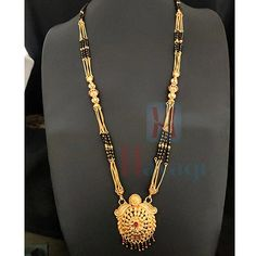 Rava Pendant Geru 1 Gram Mangalsutra 1 Gram Gold Jewellery, Temple Jewellery, Gold Jewelry, Necklace Set, Gold Necklace, Jewelry Sites, Bangles, Pendants, Engagement