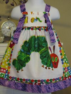eb64a0dfd69a The very hungry caterpillar plastic coated apron (b.n.w.t) | Hungry ...