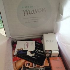 Monthly beauty boxes delivered to your door!