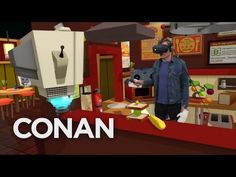 Conan goes VR