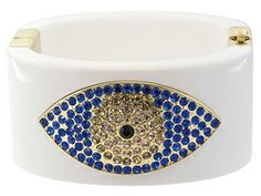 Off Park Collection (Tm), Round Multicolor Crystal, Gold Tone