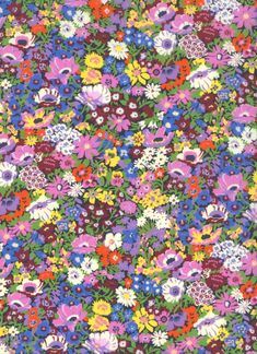 Thorpeness+X Vintage Flowers Wallpaper, Flower Wallpaper, The Strawberry Thief, Liberty Art Fabrics, Fabric Design, Floral Prints, Sarah Kay, Kids Rugs, Colours