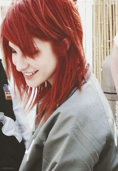 hayley and her red hair