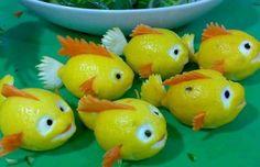 decorare con la frutta limone   Decorazioni con la Frutta: 20 Idee da Portare in Tavola!