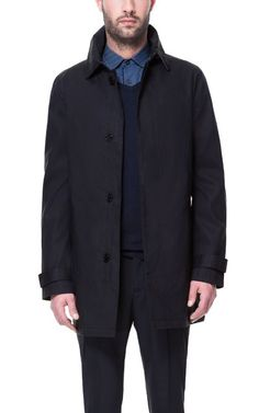 Image 2 of TRENCH COAT WITH DETACHABLE LINING from Zara (navy) $199