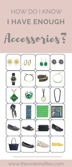 How do I Know That I Have Enough Accessories for my spring capsule wardrobe?