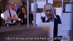 21 vermelhos Reddington GIFs que são sua vida