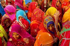 headscarves, India