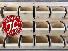 Shop Garage Storage, Small parts bin shelf. DIY - YouTube
