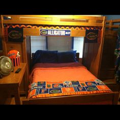 Florida Gators Room, perfect guest room, We will have this, a ...