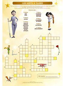Le Petit Prince, cahier d'activités pour enfants sur HugoLescargot.com