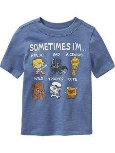 Star Wars™ Tees for Baby (Got it, LOVE IT)