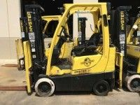 2010 Hyster S35FT 3500lb LP Gas Forklift http://www.heavyequipment.us/listings/2010-hyster-s35ft-3500lb-lp-gas-forklift/